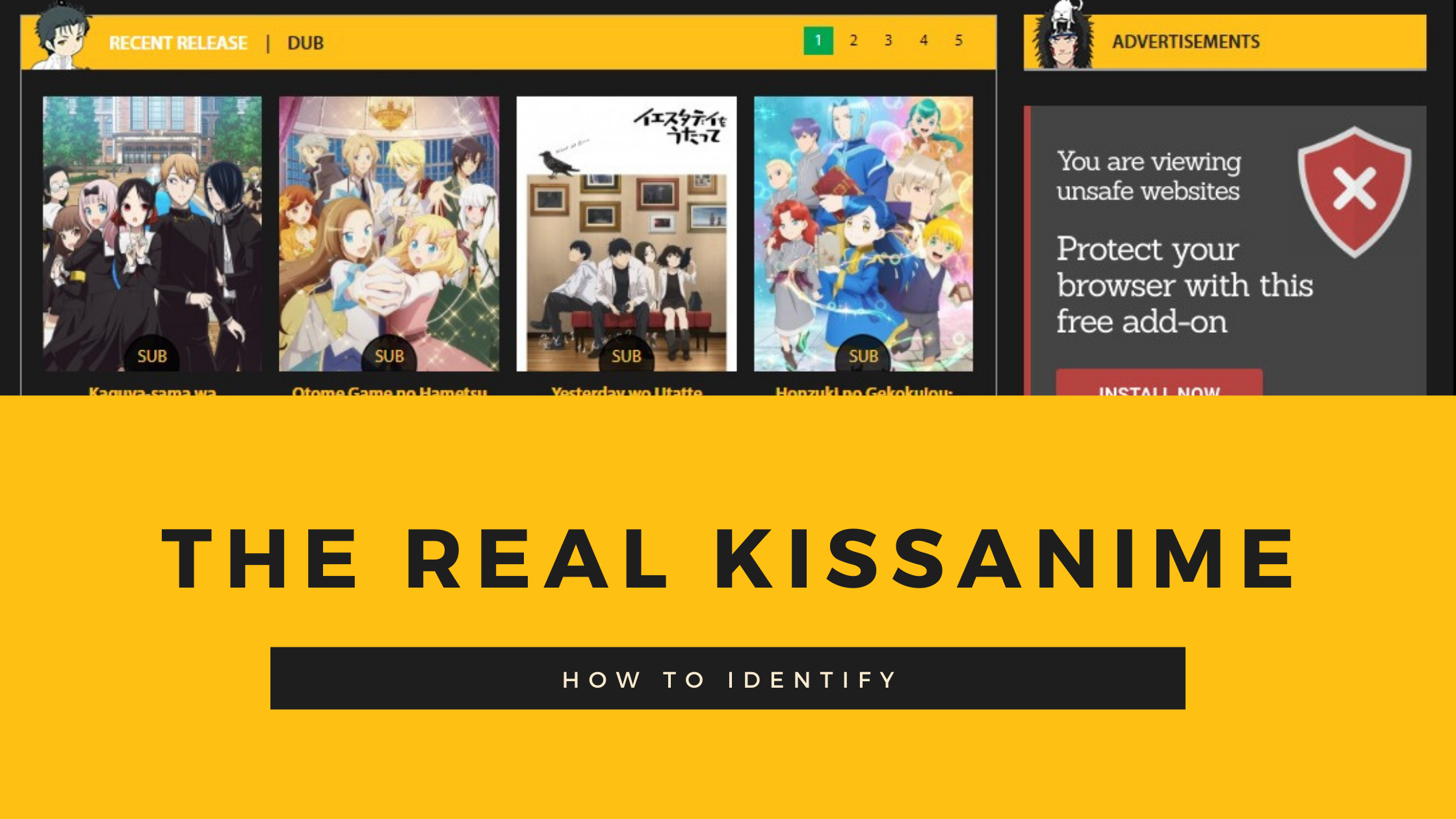 find out real kissanime